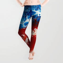 Patriotic Acrylic Leggings