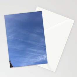 Lines in the sky Stationery Cards