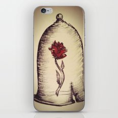 The Rose and the Bell iPhone Skin