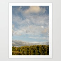 Open Heaven  Art Print
