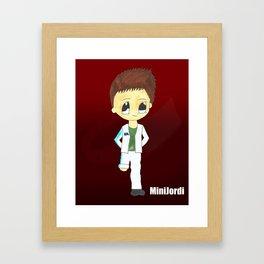 MiniJordi Framed Art Print