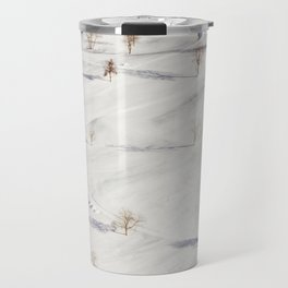 White Winterscapes II Travel Mug