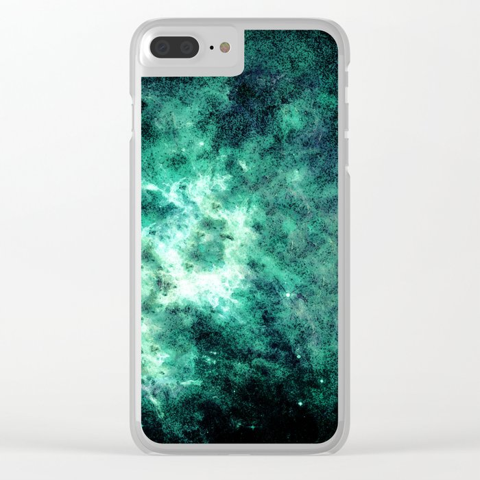 Galaxy #2 Clear iPhone Case