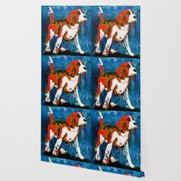 Orange Puppy Wallpaper