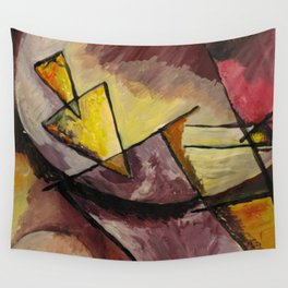 Abstract Forms Wall Tapestry