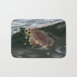 Surfing Jellyfish Bath Mat