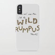 Let the wild rumpus start! iPhone X Slim Case
