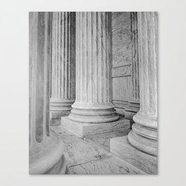 Columns at the US Supreme Court Canvas Print