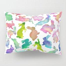 Watercolour Bunnies Pillow Sham
