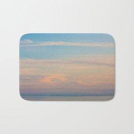 Serene sunset Bath Mat