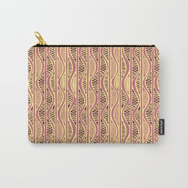 Peapods - Honeysuckle Gold Carry-All Pouch
