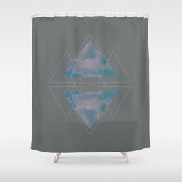 North to South Shower Curtain