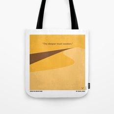 No251 My DUNE minimal movie poster Tote Bag