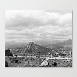 Explore The Past Canvas Print