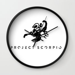 Project Scorpio Wall Clock