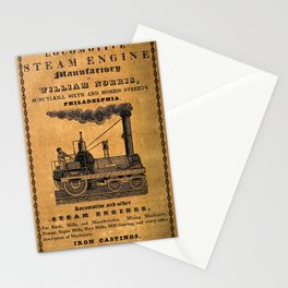 Advertisement for the Philadelphia workshops of William Norris Stationery Cards
