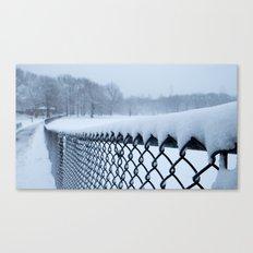 Snow in Central Park VI Canvas Print