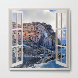 Bella Italia | OPEN WINDOW ART Metal Print