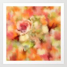 Dusty Rose Art Print