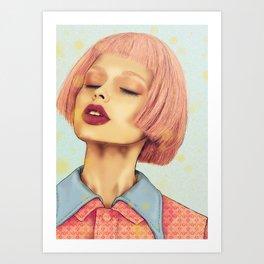 Sandra Art Print