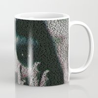 mia wallace Mugs featuring Mia by Robotic Ewe