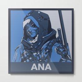 Ana HOPE Propaganda Metal Print