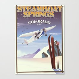 Steamboat Springs Colorado Canvas Print