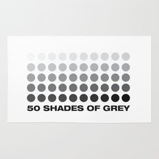 50 shades of grey Rug