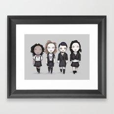 Plush Craft Framed Art Print