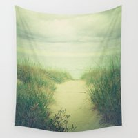 dune Wall Tapestries featuring Finding Calm by Olivia Joy StClaire