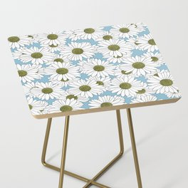 Daisy Blue Side Table