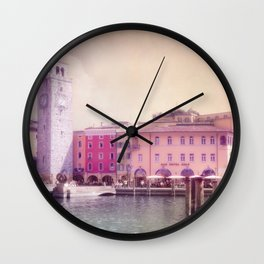 RIVA - Lake Garda - Italy Wall Clock