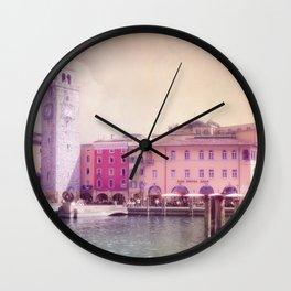 RIVA - Lake Garda - Italy Wall Clock