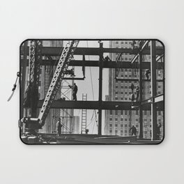 Steel workers New York City Laptop Sleeve