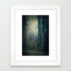 Beckoning Framed Art Print