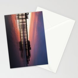 Hastings Pier Sunset Stationery Cards