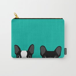 Boston Terrier and French Bulldog Carry-All Pouch