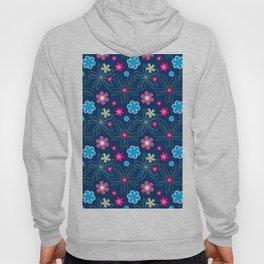 Multifloral Pattern Hoody