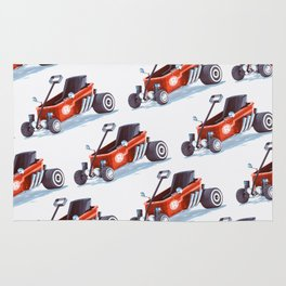 Red Toy Wagon Rug