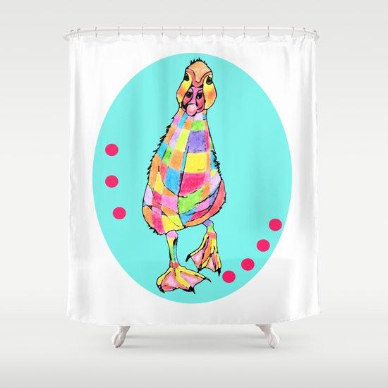 Rainbowduck Shower Curtain