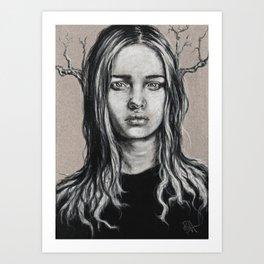 Branch: Postcard #1  Art Print