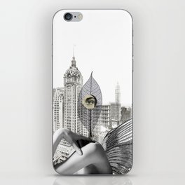 I wanted to be mean person iPhone Skin