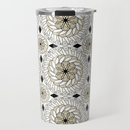 Colorful ethnic ornament . Travel Mug
