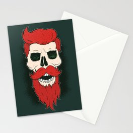 Bearded Skull Stationery Cards