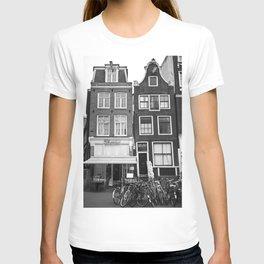 Love Amsterdam Houses and Bikes T-shirt