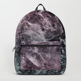 Enigmatic Dark Night Marble #1 #decor #art #society6 Backpack