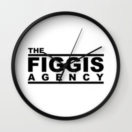 The Figgis Agency Wall Clock