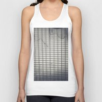 grid Tank Tops featuring Grid by farsidian