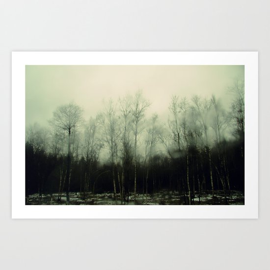 Winter is yet to come Art Print