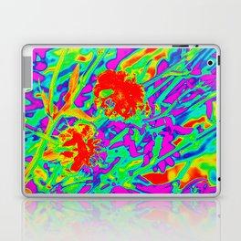 Psychedelic flower garden Laptop & iPad Skin